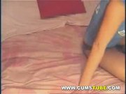 Panties Rammed In Cunt