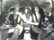 Girl enjoys SlingShot ride