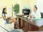 Angelina Valentine Spanked By Her Teacher