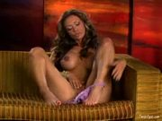 Crissy Moran having finger fun