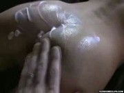 Gentle tickling turns to a hard anal scene