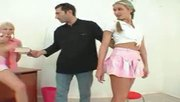 2 Hot Teens Fucked By The Teacher