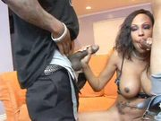 One cock just isn't enough for Lacey Duvalle