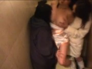 Model molested by Lesbians on Toilet