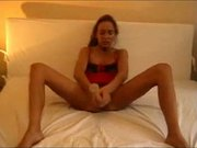 Baseball bat stuffing MILF fucked n facialed