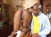 Sexy Ebony having rough sex with big dick