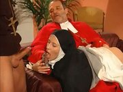 Can the nun handle the priest?!