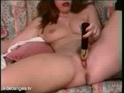 British Lady Toys Herself