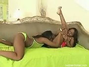 Very wet ebony dykes