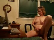 Mature Woman Rubs Her Clit