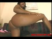 Candice. Big tits black girl having sweaty sex