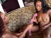 Stacy Cash and Persia Use The Long Dildo