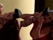 Nicole Sheridan, Chloe Dior: Glamorous pornstar lesbo threesome!