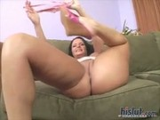 Buxom Brunette Maya Divine has a huge caboose