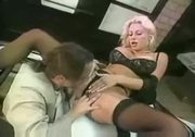 Eve Lawrence: Blonde humped in garage