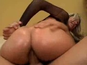 Solid anal pounding