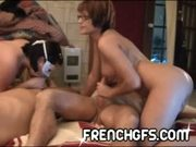 French Canadian Swingers foursome