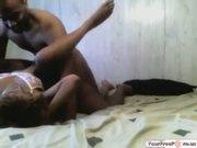 Homemade Ebony Threesome