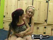Joanna Angel Blows Cock At Home