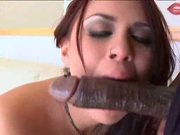 Fabulous latin babe Eva Angelina pleases cock