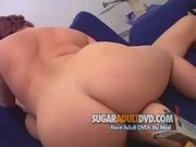Fat girl pleasing her man