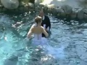 Clumsy best man ruins the wedding ceremony