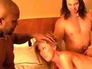 Cheating wife gets triple the fun