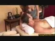 Slow Massage From Sexy Red-Head