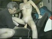 Garage car seat fucking