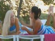 Insane Russian lesbian babes