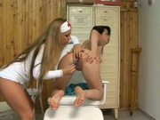 Hot Lesbian Nurses Playing With Toys