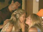 Kissing her makes him hard
