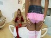 Ebony pornstar lesbians