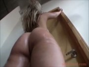 Blonde Girl Booty Battle Sarah Vandella