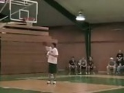 Dude Stuck In Basketball Net On Embarrassing Dunk