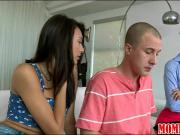 Taylor Whyte and handsome BF 3some with stepmom Brandi Love