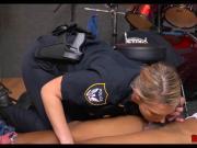 White female cops double team black robber