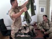 European military babe double penetrated
