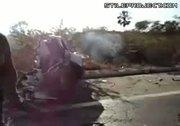 horrible car crash