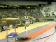 Men's Gymnastic Vault Fail
