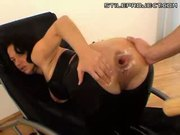 assfucked with a baseball bat and she loves it