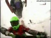 Frightening Snowmobile Accident
