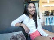 Horny chick Jasmine Summer loves licking meaty popsicle