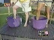 Grape Stomper Epic Fail Fall