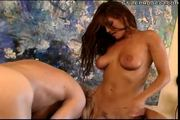 cytherea fucks and sucks with her little friend