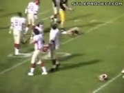Football Streaker Gets Nailed Hard On The Field