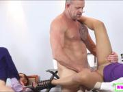 Gigi Flamez and Katalina Mills fucked by nasty older men