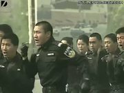 chinese police showing off how hardcore they are by storming a building