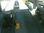 Guy Run Over At A Toll Booth
