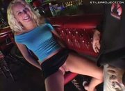 Erin Moore - Fucked in a bar while owner watches
